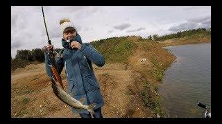Рыбалка с микродевочкой. Пассивные дневные щурята.