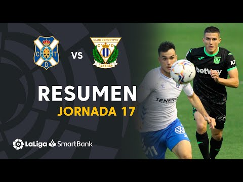 Tenerife Leganes Goals And Highlights
