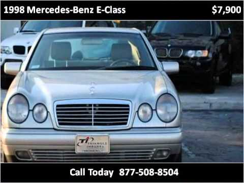 1998 Mercedes-Benz E-Class available from Triangle Imports