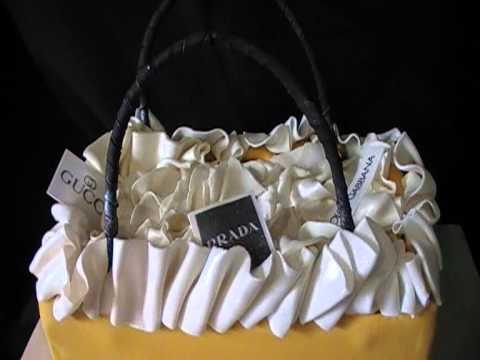 Selfridges Shopping Bag Cake By Awesome Cakes UK YouTube - Selfridges Wedding Cakes