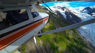 Alaska Skyline: Mountain Flying Tips + Glaciers & Canyons