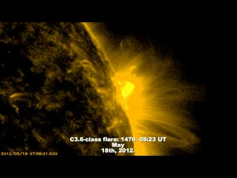 SOLAR ACTIVITY UPDATE: Interplanetary Shock Wave and Solar Eclipse (May 20th, 2012).