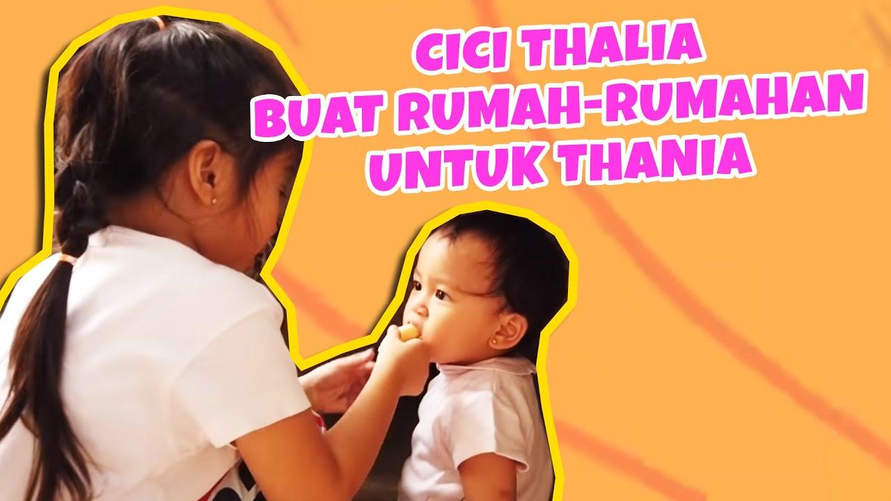 MOP KIDS - SERUNYA MAIN RUMAH RUMAHAN BARENG THALIA DAN THANIA