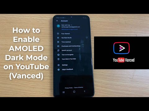 How to Enable AMOLED Dark Mode in YouTube Vanced on Android phone