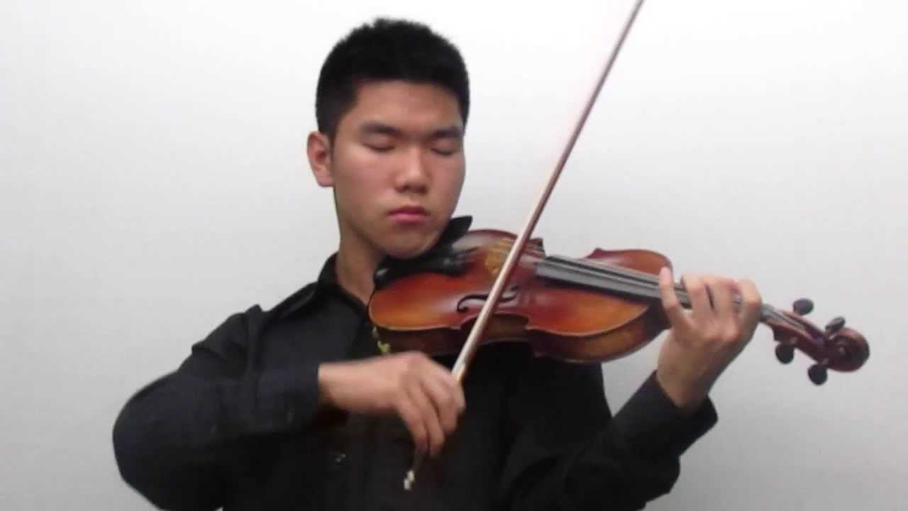austin wang plays paganini 39 s caprice no 24 on the violin youtube. Black Bedroom Furniture Sets. Home Design Ideas