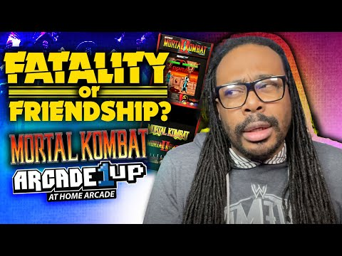 Mortal Kombat Arcade1up Update | Fatality or Friendship? from Mr. Wright Way