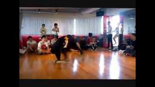 B-BOY ZAKAO Dancer's Battle ウィンドミルコンテスト 優勝