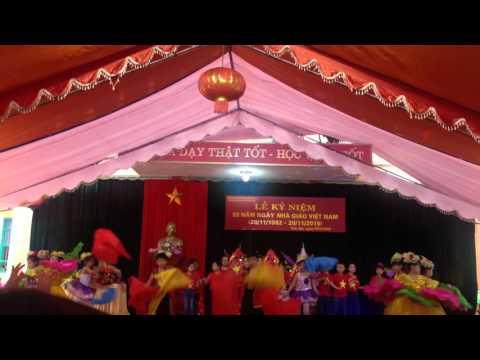 Em Yêu Tổ Quốc Việt Nam - Lớp 3E Trường tiểu học Nguyễn Trãi TP Yên Bái (20/11/2015)