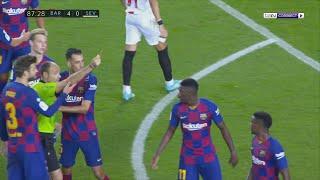 Barcelona 4-0 Sevilla | LaLiga 19/20 Extended Match Highlights