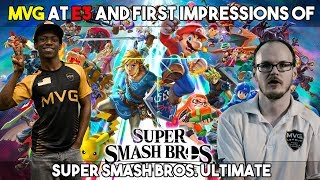 Mew2king and Salem's first Super Smash Bros. Ultimate impressions, Live from E3