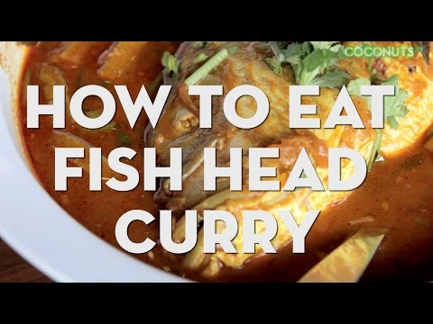 How To Eat Singapore Fish Head Curry
