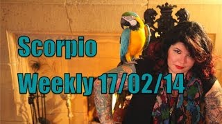 Scorpio Weekly Astrology 17th February 2014 with Michele Knight