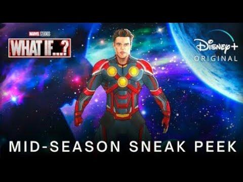 Download Marvel's WHAT IF…? (2021) Mid-Season Sneak Peek TRAILER   Disney+