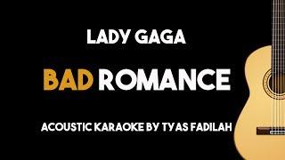 Bad Romance - Lady Gaga (Acoustic Guitar Karaoke Version)
