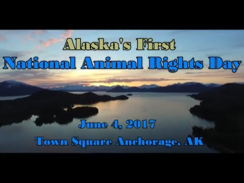 Alaska's First National Animal Rights Day Commercial 2