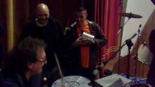 Tullio De Piscopo alla Buatteria jamsession con Capone & BungtBangt