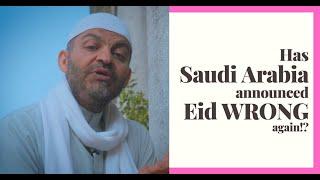 Is the Saudi Arabian Moonsighting for Eid al-Fitr 1440/2019 really absurd?