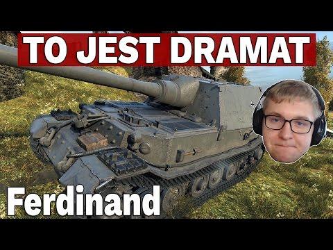 To jest dramat - Ferdinand - Strzelmy Sobie Randomka - World of Tanks