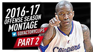 Jamal Crawford Offense Highlights Montage 2016/2017 (Final Part 2) - CRAZY Crossovers, SICK HANDLES!