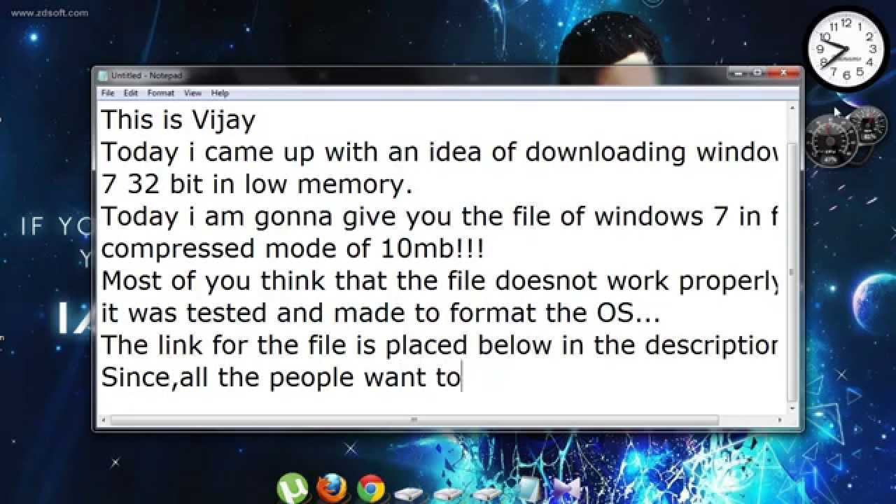 download windows 7 32 bit iso file highly compressed