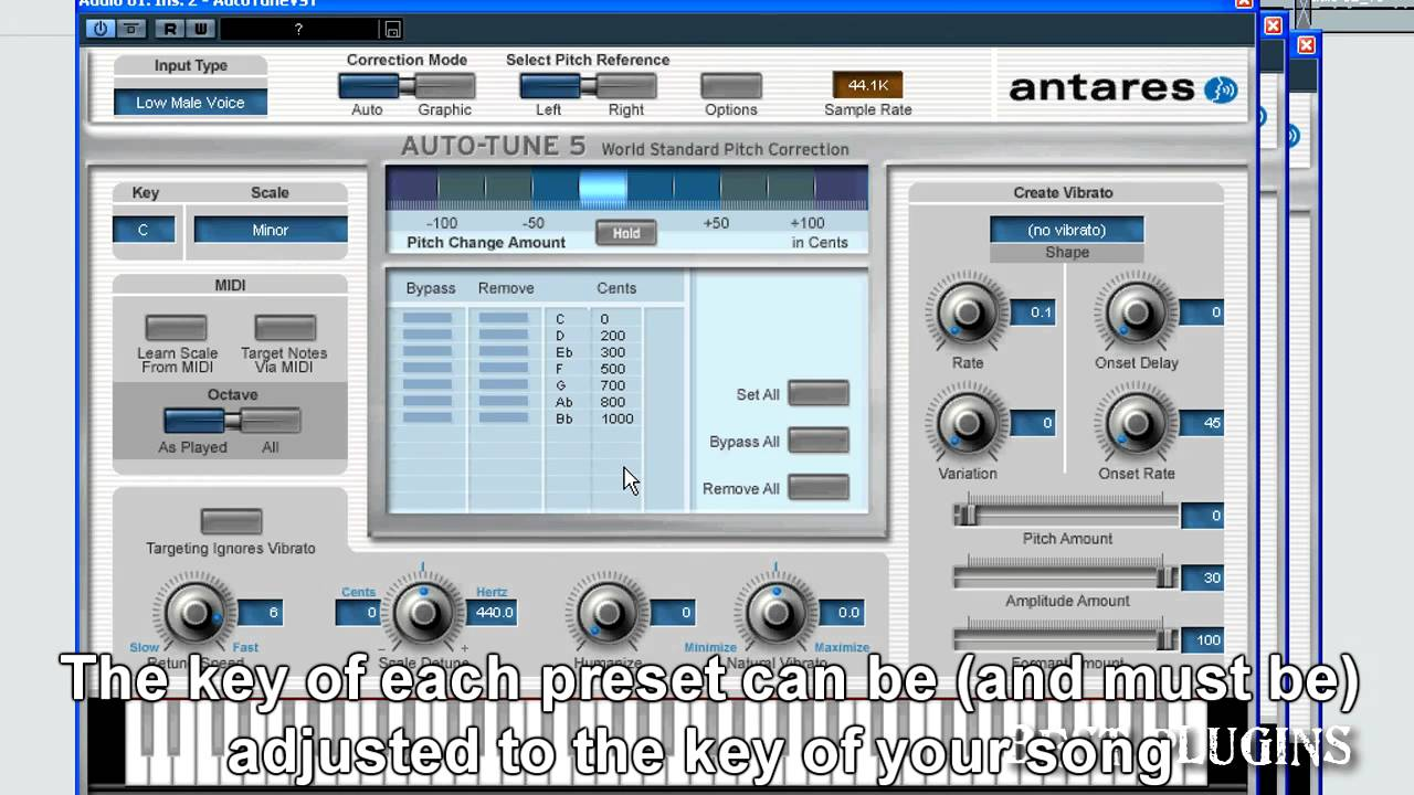 auto-tune presets: t-pain, kanye west, lil wayne - With examples