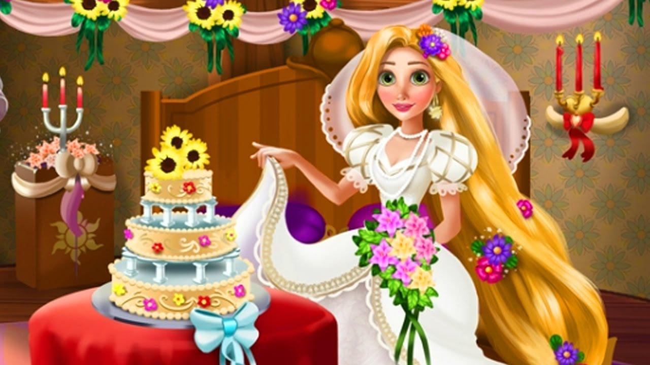 Rapunzel Wedding Deco - Baby Game - Disney Princess Game ...
