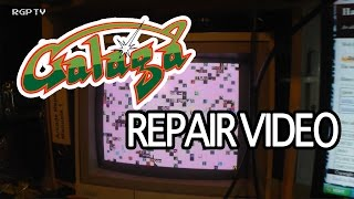 Galaga, Namco 1981 (Bootleg) Arcade PCB Repair after Play Expo 2015