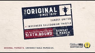 Dundee United 1-2 Inverness Caledonian Thistle William Hill Scottish Cup 2018-19 - Sixth ...