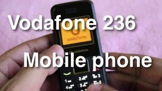 Vodafone 236 - Cheapest mobile phone in india