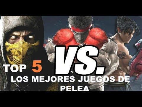 Top 5 Los Mejores Juegos De Pelea Ps4 Xbox One Youtube