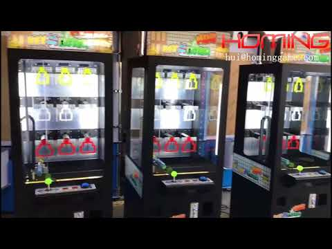 Luxurious  Arcade Black Mini Key Master Prize Redemption Game  Machine | Prize Vending Game Machine