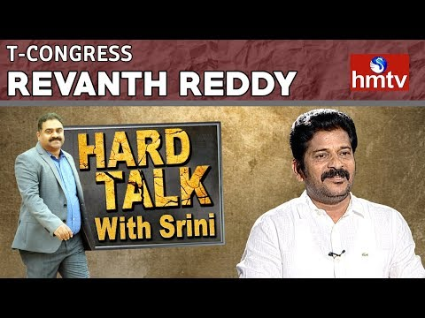 Telangana Congress Leader Revanth Reddy Interview | Hard Talk With Srini | Telugu News | hmtv