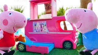 Свинка Пеппа - Мягкие игрушки - Кукольный домик Пеппы