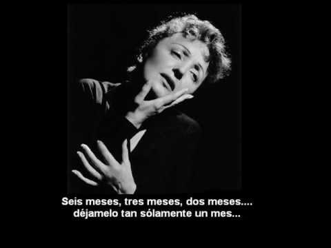 Edith Piaf - Mon Dieu