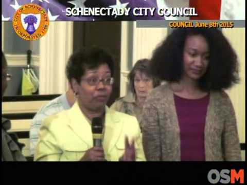 Schenectady City Council June 8th 2015