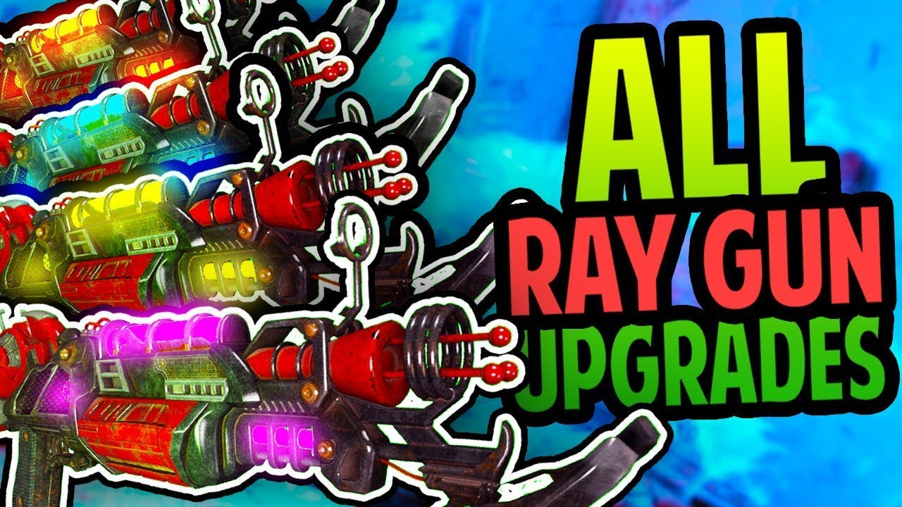 """ALPHA OMEGA"" ALLE ELEMENTAL RAYGUN MARK 2 UPGRADES (Black Ops 4 Zombies) + video"