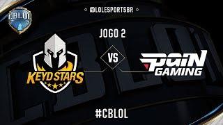 Keyd Stars x paiN Gaming (Jogo 2 - Semana 6 - Dia 1) - CBLoL 2017