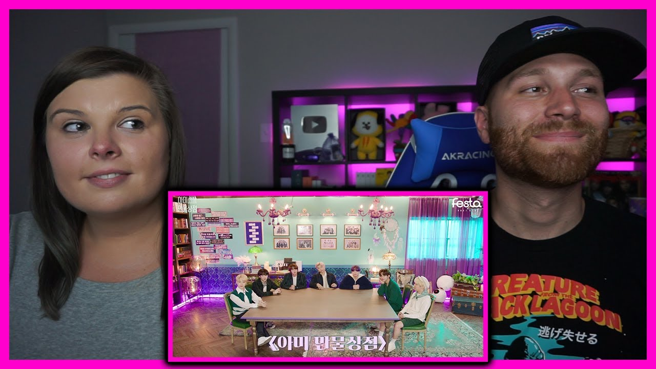 ♾️ BTS (방탄소년단) '아미 만물상점' #2021BTSFESTA| Reaction OUR LOVE IS INFINITE 8 YEARS CELEBRATION ! ♾️