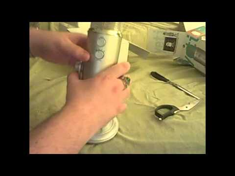 Blue Yeti Microphone Unboxing with Quality Test