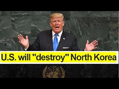 Full Speech of Trump's first major address to the United Nations General Assembly