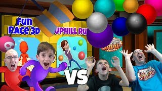 Fun Race 3D vs Uphill Run Gameplay and Review