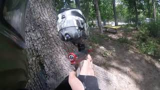 Got lit up by some dude in a kilt. Jeagers subsurface paintball 06/10/2018