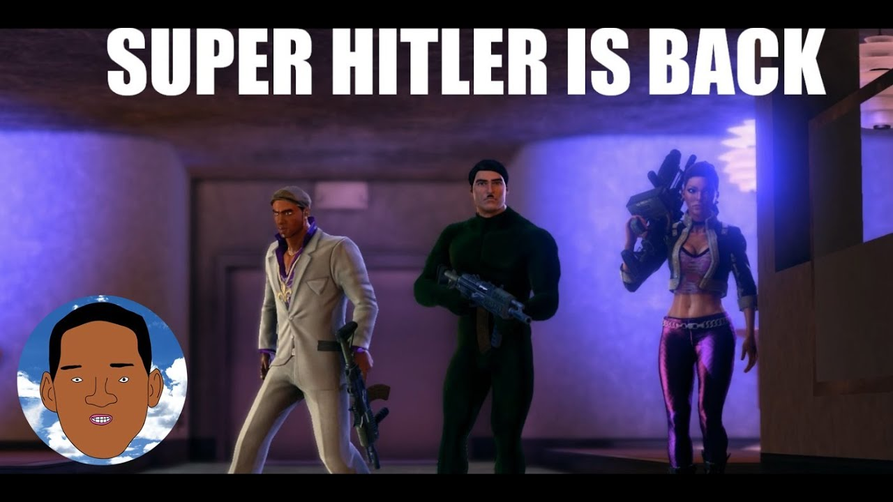 WOLL] Hitler VS The Jewmasochism on Saint Row - The Third - YouTube