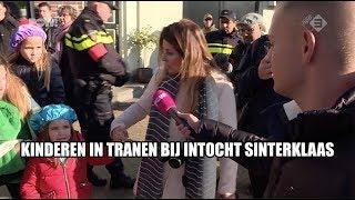 Anti-Pieten laten kinderen huilen bij Sinterklaasintocht Zaandam
