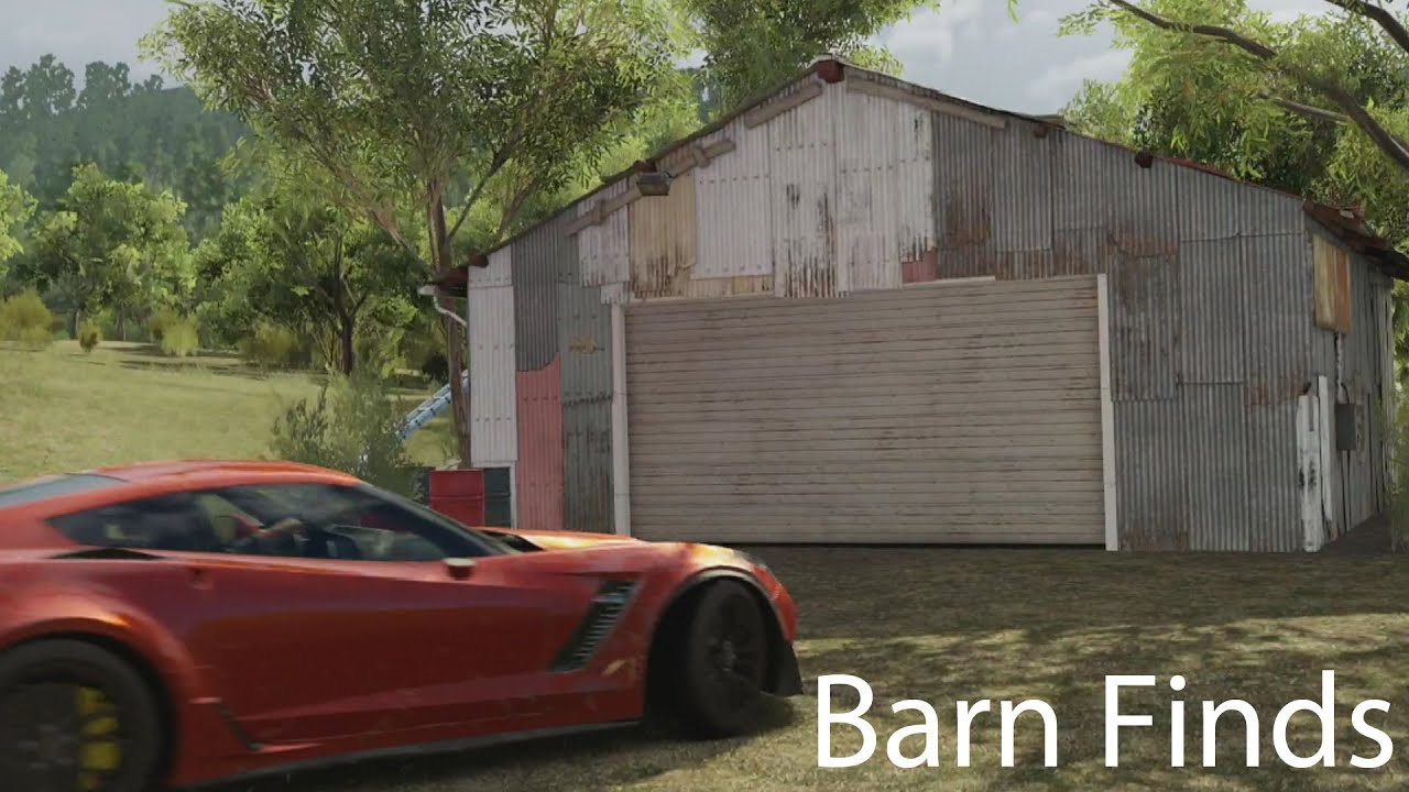 Forza Horizon 3 Barn Finds Guide Amp Restoration Youtube