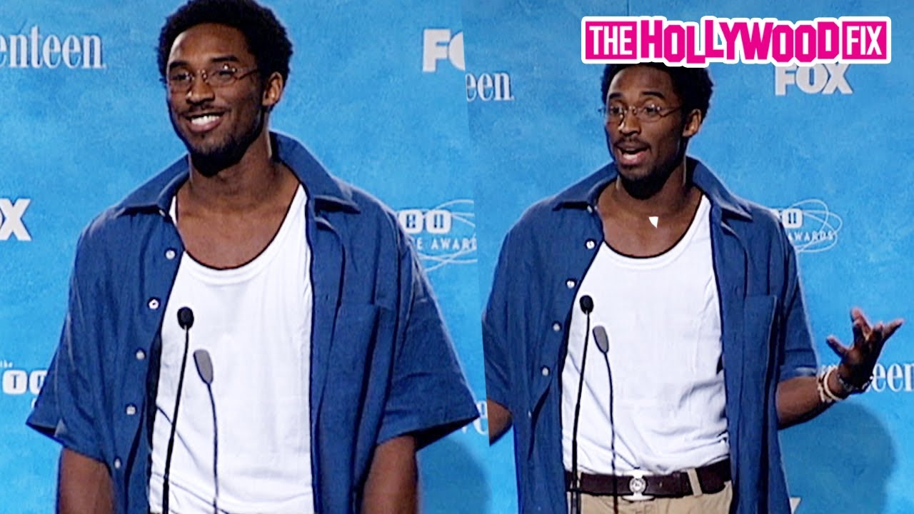 Kobe Bryant Is Asked To Freestyle For Media & Speaks On His Favorite Music At The Teen Choice Awards