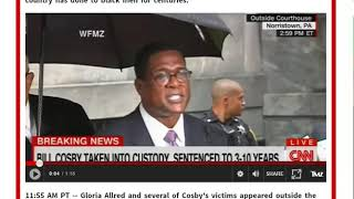 BILL COSBY SENTENCED 3 TO 10 YEARS