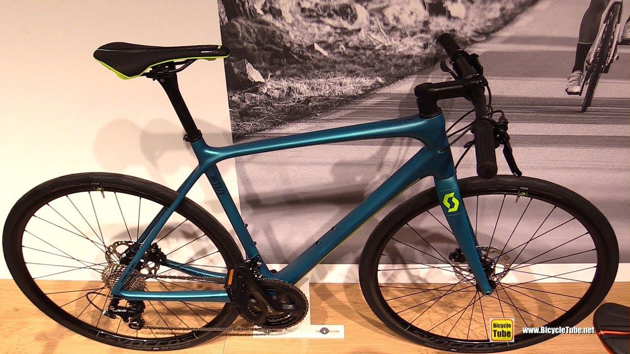 703a15b35e3 2018 Scott Metrix 10 Disc Cross Bike - Walkaround - 2017 Eurobike ...