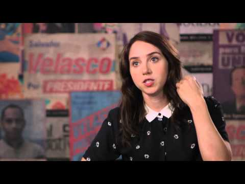 "Our Brand is Crisis: Zoe Kazan ""LeBlanc"" Behind the Scenes Movie Interview"