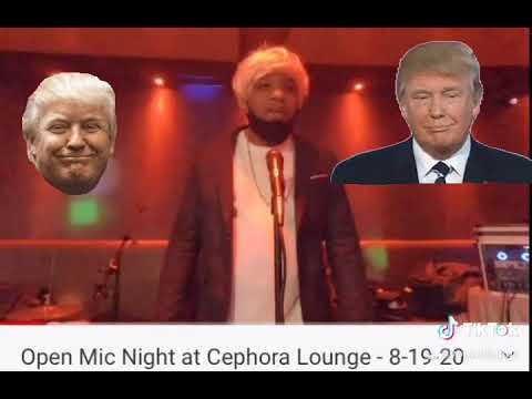 @maniehodge black Trump standup and song performance